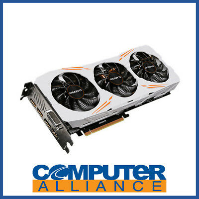 Gigabyte GTX1080Ti 11GB Gaming OC PCIe Video Card PN GV-N108TGAMING OC-11GD