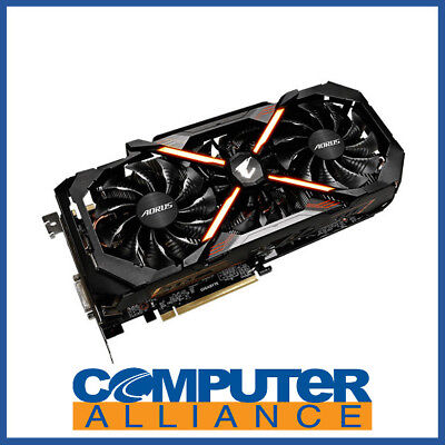 Gigabyte GTX1080Ti 11GB AORUS PCIe Video Card PN GV-N108TAORUS-11GD