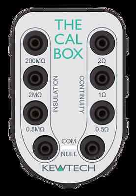 Kewtech CAL BOX Calibration CheckBox Checks Consistency of Mutifunction Tester