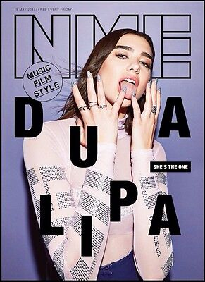 NME - Dua Lipa Cover And Interviews - One Day Publication Only