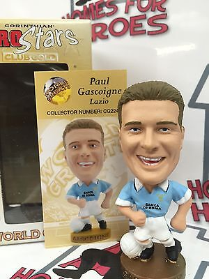Corinthian Prostars Lazio Paul Gascoigne Cg224 Gold Base Sealed In Window Box