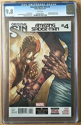 Amazing Spider-Man #4 ⭐️ CGC 9.8 ⭐️ 1st First Silk