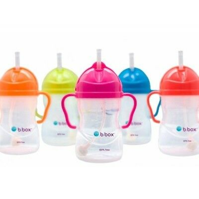 B.Box Neon Essential Sippy Cup 240ml Baby Toddler Training Cup Water Bottle BBox