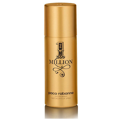 1 MILLION pour Homme Deodorant Spray 150 ml Desodorante hombre Paco Rabanne One