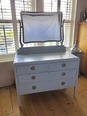 Edwardian Chest Of Drawers With Mirror