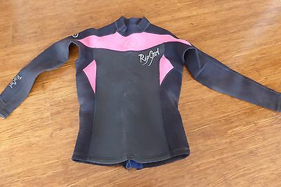 Ladies Size 10 Ripcurl Wetsuit Top