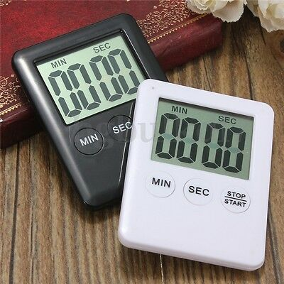 AU Digital Kitchen Cooking Timer Count-Down Up Clock Electronic Alarm Magnetic