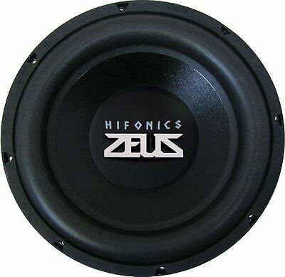 hifonics zx 1254 zeus 30 cm subwoofer 4 ohm 500 wrms 2. Black Bedroom Furniture Sets. Home Design Ideas