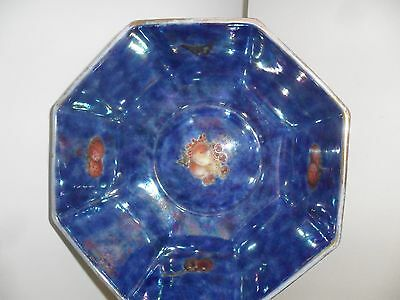 Rosenthal 1930 Fairyland Butterfly Large  Lustre Bowl