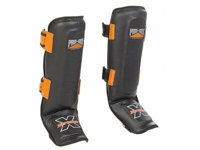 Pro Box 'XTREME COLLECTION' SHIN-N-STEP LEG GUARDS- Muay Thai Boxing Sparring