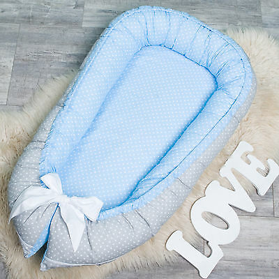 Baby Nest with Removable Cover for newborn co sleeper, babynest, cot, pod, crib