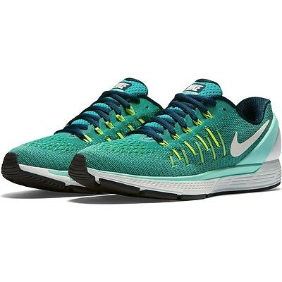 Nike Air Zoom Odyssey 2 Womens Running Shoes Structured Trainers Teal Sizes 4-8