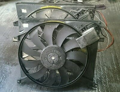 99-05 Mercedes ML W163 270 CDI TEMIC RADIATOR COOLING FAN GENIUNE A1635000093