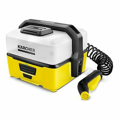 Karcher OC3 Battery Operated Mobile Outdoor Cleaner Ideal for Mountain Bikes