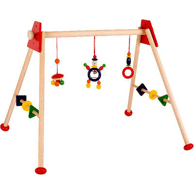 Spielbogen HEIMESS Babygym Trapez Clown Holz - made in Germany
