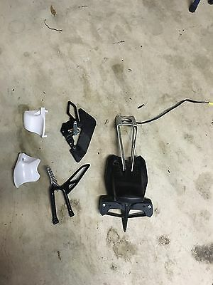 yamaha wr250r Rear Tail Assemble And Foot Pegs