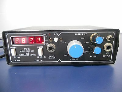 Audio Test Set Gold Line TS-2 with impedance meter