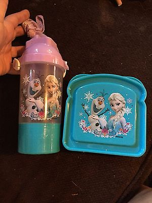 Frozen Elsa & Olaf Sandwich & Thermos/Snack Combo