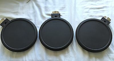 Roland PD8A Electronic V Drum Pads Lot Of 3