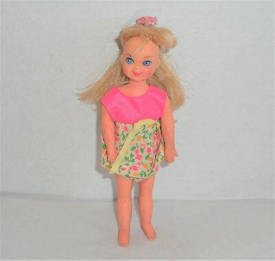 Vintage Mattel Barbie Tutti Doll With Tagged 1965 Outfit