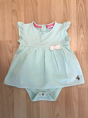 Ted Baker Baby Baker Girls Babygrow With Top Dress Detail Age 6-9 Months