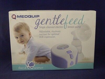 Medquip MQ9000 Gentlefeed Single Channel Electric Breast Pump NEW