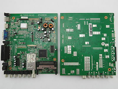 SCHEDA MADRE HK-7050D-V4.3-C  SP430ESC MAIN BOARD X TV LCD-LED DIKOM M22 e M24