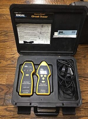 Ideal Suretest For Open/closed Circuit Tracer Sure Test Case/cable