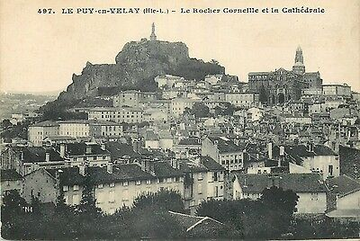 43 Le Puy-En-Velay Rocher Corneille Et Cathedrale