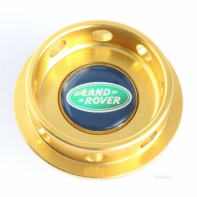 Land Rover Freelander Oil Filler Cap Gold Anodised Aluminium for K Series Engine