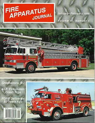Fire Apparatus Journal (FAJ) 1998 Complete - all 6 back issues from 1998