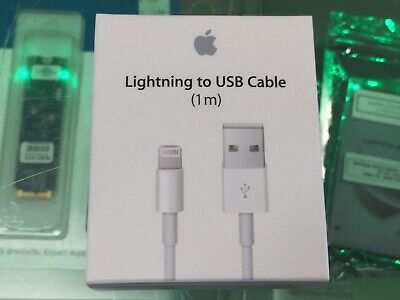 Apple Genuine Lightning to USB Cable (1 m) MD818AM/A  Sealed Retail Box