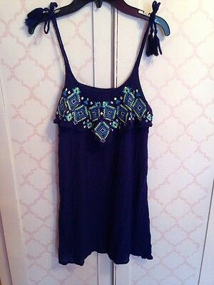 Girls Justice Swimsuit Cover Up Dress Size 14