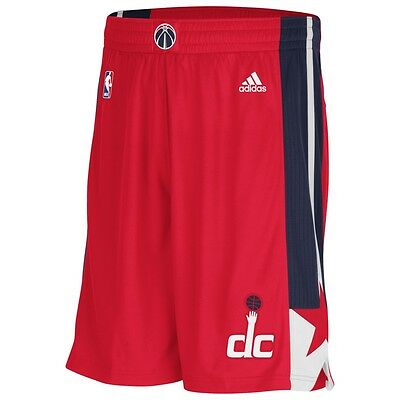 adidas Woven NBA Intnl Swingman Shorts Washington Wizar A40867