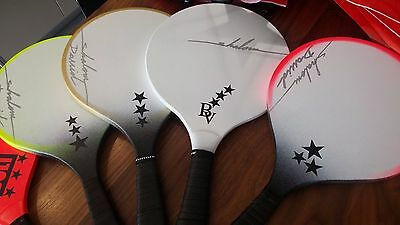 Matkot Beach1 + Ball Paddles Israeli Racquet Original Ting Dong Game Wood +Grip