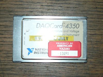 NI National Instruments DAQCARD-4350 182750C-01 NO RESERVE 1390