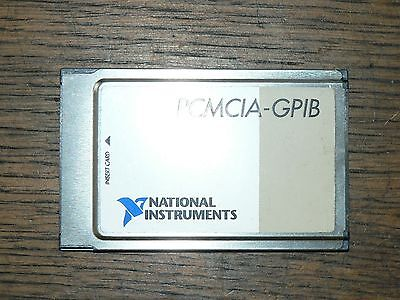 NI National Instruments PCMCIA-GPIB 184713B-01 NO RESERVE 1389