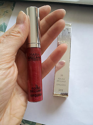 Maria Galland - V.26€ Rouge Brillant N°38 Lipgloss Kir Royal Neuf