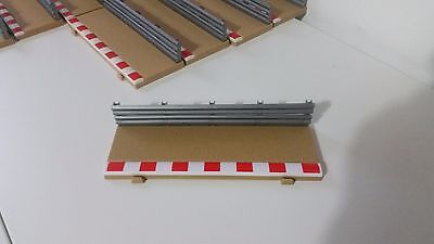 SCALEXTRIC C8223 Straight Sport Borders Barriers x 1