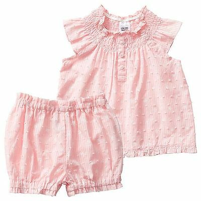 NEW Baby Sleeveless Poplin Pyjama Set - Pink Size 000