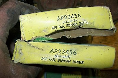 NOS John Deere Piston Rings
