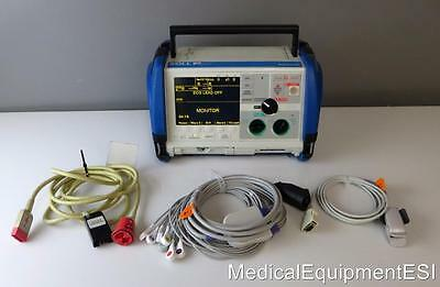 ZOLL M Series 12 Lead ECG SpO2 Co2 Analyze Pacing ALS w/ Xtreme Case