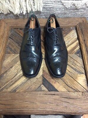 To Boot New York Men's Wingtip Dress Shoes Color Black Size 11.5