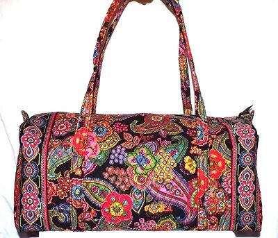 New Vera Bradley Extra Large Duffel Symphony In Hue