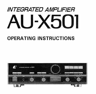 sansui au d11ii integrated stereo amp operating instructions printed rh picclick co uk User Webcast Kindle Fire User Guide