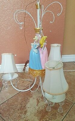 RARE Disney Princess Chandelier