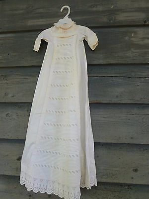 Late 1800's Antique Victorian Christening Gown