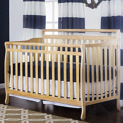 Dream On Me Liberty 5-in-1 Convertible Crib - Natural