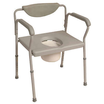 NRS Economy Height Adjustable Extra Wide Commode