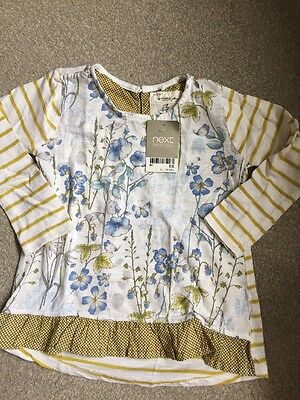 Next Girls Untold Story Long Sleeve Top Brand New With tag 12-18